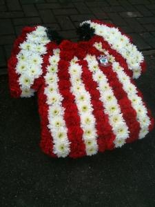 Football Shirt Funeral Tribute