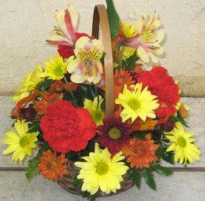 Fresh Basket Arrangement