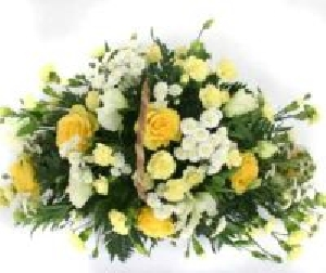Fresh Floral Basket