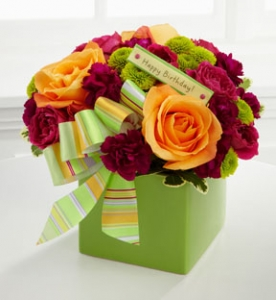Fresh Floral  Ceramic Vase