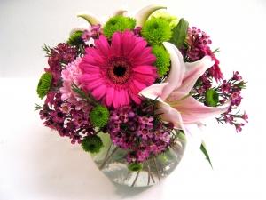 Fresh Floral Vase