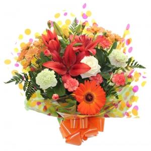Order Fresh & Funky Handtied flowers