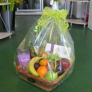 Fruit And Chocolates Basket