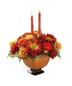 FTD Autumn Splendor Centerpiece