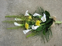Funeral Hand Tied