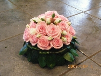 Funeral Rose Posy