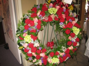 Funeral Wreath -0829