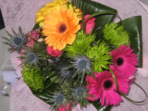 Funky Hand Tied Bouquet