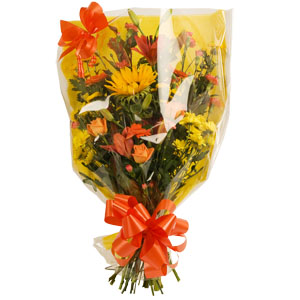 Gift Wrap Bouquet