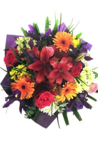 Gift Wrap Mixed Bouquet