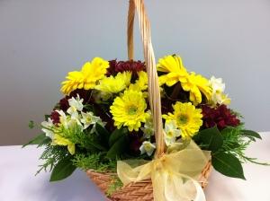 Gloden Wedding Basket