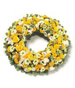 Golden Loose Wreath