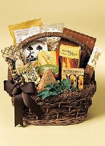 Gourmet Food Sampler Gift Basket