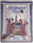 Graduation Tapestry Throws