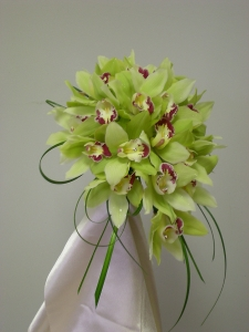 Green Orchid Bride