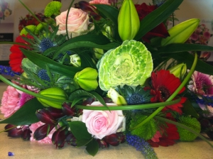 Hand Tied Of Choice Flowers