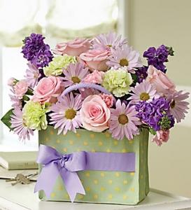 Handbag Of Blooms