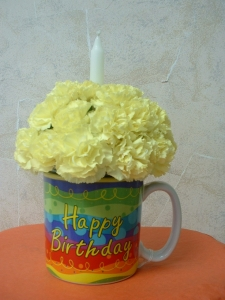 "Happy Birthday ""Cup"" Cake"
