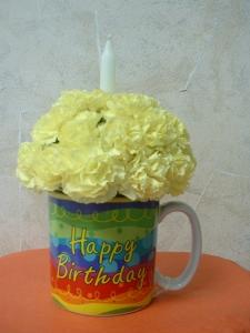 "Happy Birthday ""Cup"" Cake"