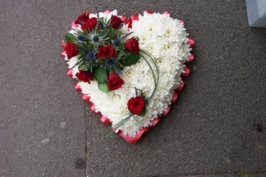 Heart Based Wreath (15in)