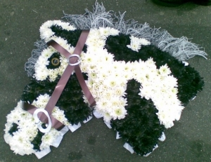 Horse Head Funeral Tribute