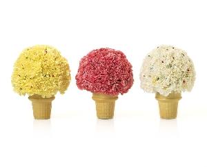 Ice Cream Cone Arrangement