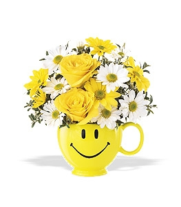 Large Be Happy Mug