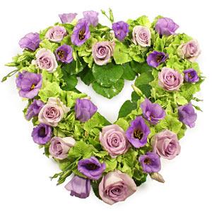 Lavender Heart