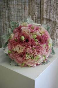 Lissianthus Bridal Bouquet