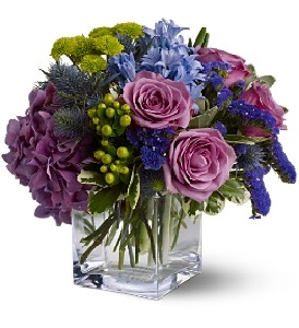 Lovely Modern Purple Bouquet