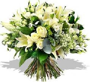Luxury White Mix Bouquet