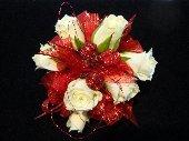Miniature Rose Wristlet