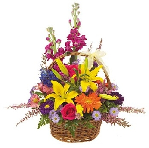 Mixed Basket Bouquet