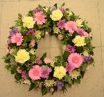 Mixed Funeral Wreath