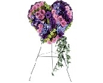 Mixed Purple And Lavender Heart