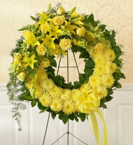 Monochromatic Sympathy Wreath