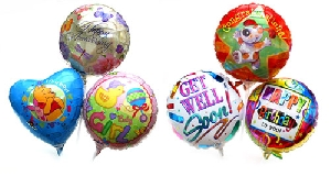 Mylar Balloon (birthday, Birth Of Baby, Congratulations, Happy Face, Etc)