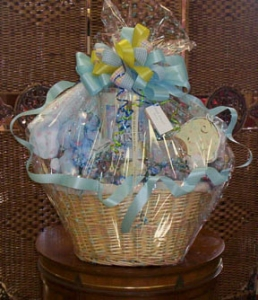 New Baby  Gourmet Basket
