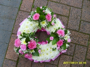 Open Wreath Ring