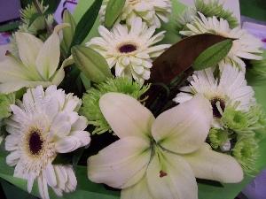 Pastel Funeral Bouquet