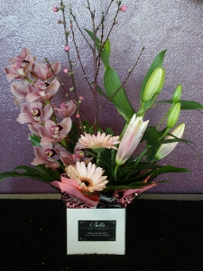 Pastel Modern Box Arrangement