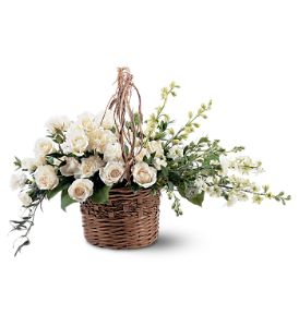 Peace And Light Sympathy Basket