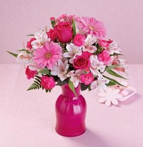 Perfectly Pink Arrangement