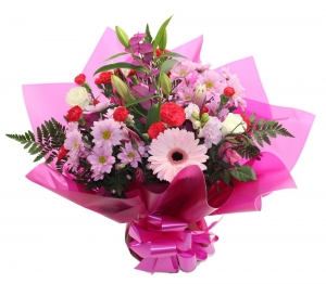 Pink And Fresh Bouquet
