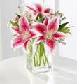 Pink Lily Bouquet     S35-4298