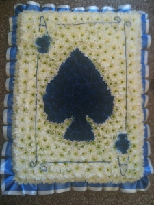 Playing Card 2ft X 2.5ft