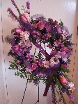 Purple And Lavender Wreath