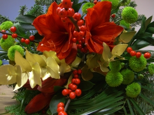 Red Festive Bouquet