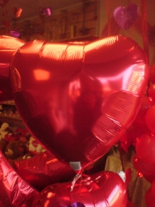 Red Valentine Balloon