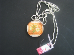 Resin Vintage Style Necklaces